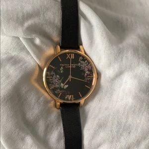 Accessories - Olivia Burton Floral Watch
